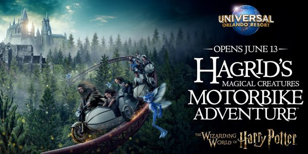 Harry Potter fans - here's your chance to win a trip to Universal Orlando Resort to attend the opening of Hagrid's Magical Creatures Motorbike Adventure at Universal Orlando Resort