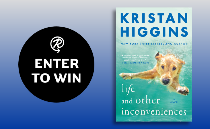 Enter to win 1 of 100 copies of the book Life and Other Inconveniences by Kristan Higgins.