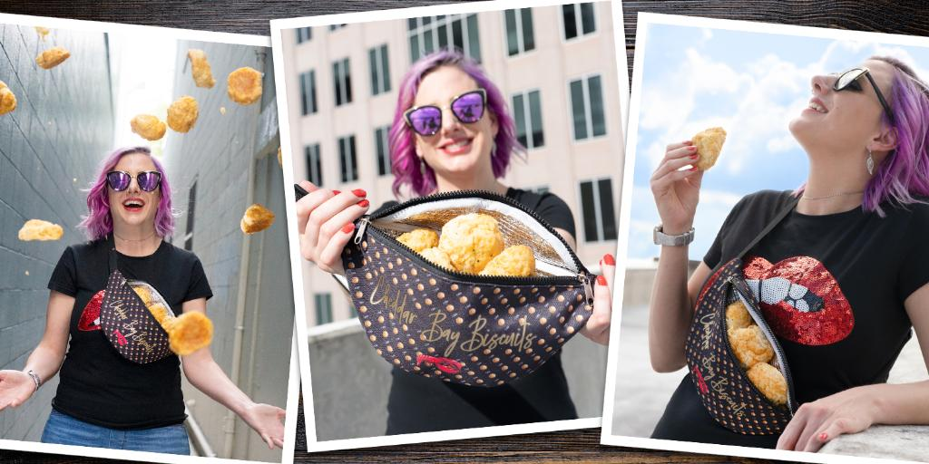 Red Lobster is celebrating Biscuit Days and giving away 450 Bun Warmer fanny packs! Follow @RedLobster on Twitter for your chance to win.