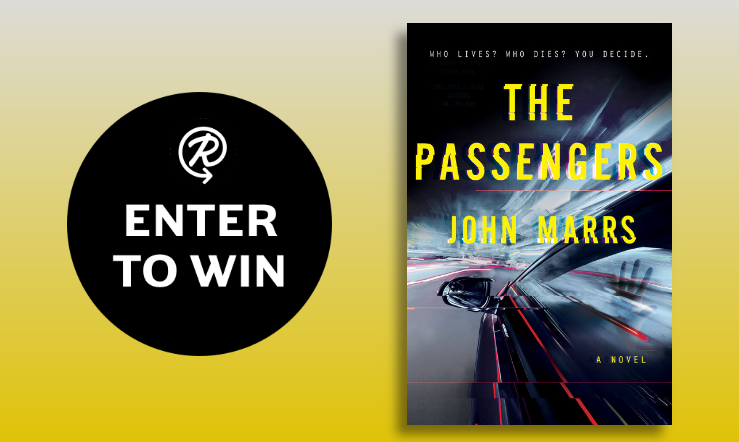 the passengers by john marrs book giveaway  100 winners