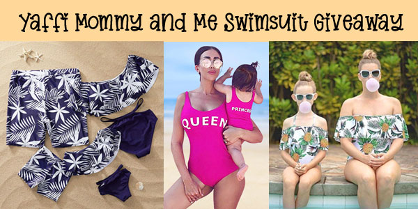 Yaffi Swimsuit Giveaway