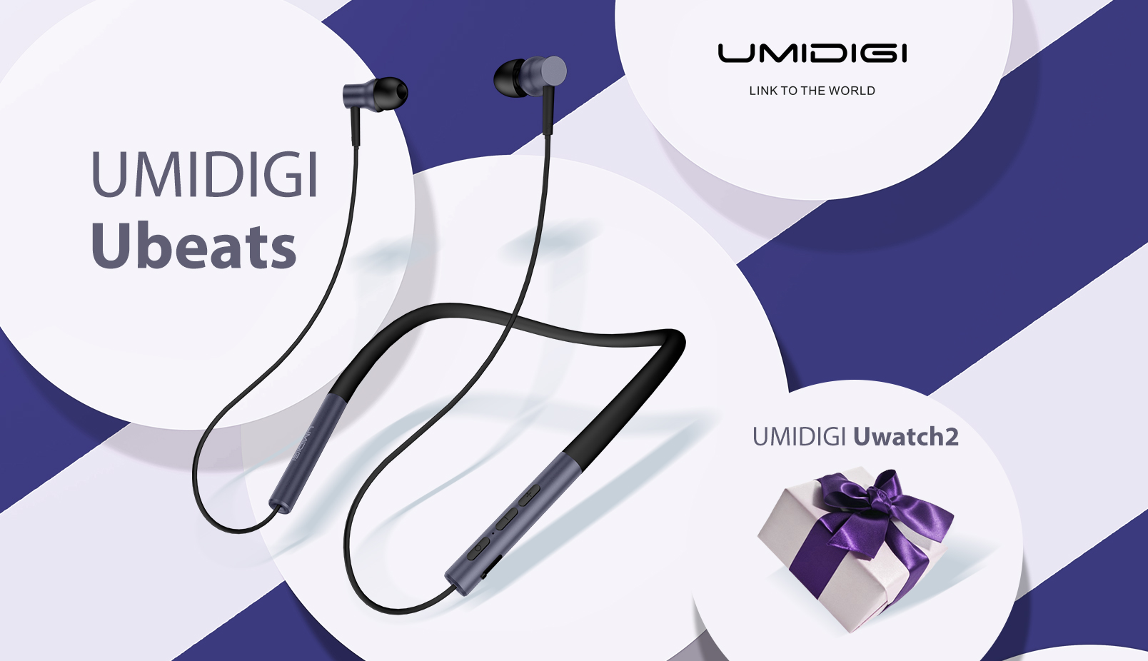 Enter for your chance to win 1 of 10 UMIDIGI Ubeats earphones, 10 UMIDIGI Uwatch2 and 10 UMIDIGI Tripod Selfie Stick for a total of 30 winners!