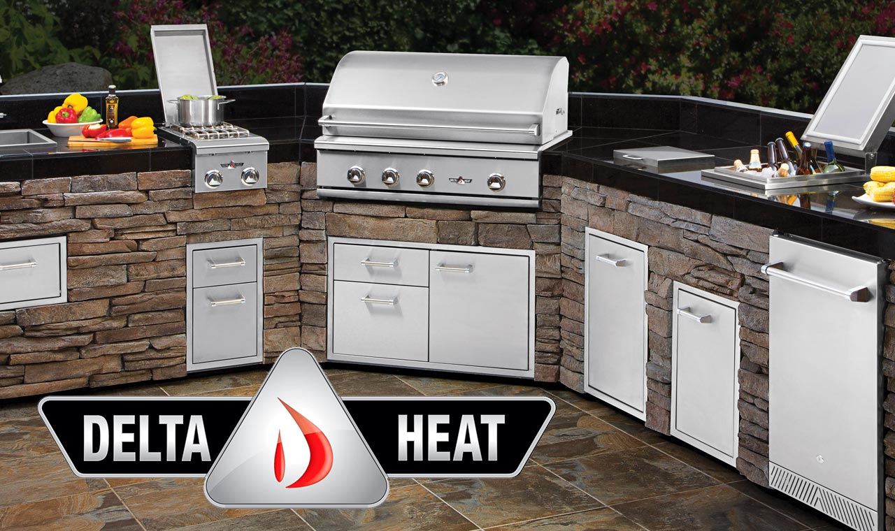 """Enter the new Bob Vila sweepstakes every day this month to win a best-in-class Delta Heat 32"""" Outdoor Grill plus Access Doors!"""
