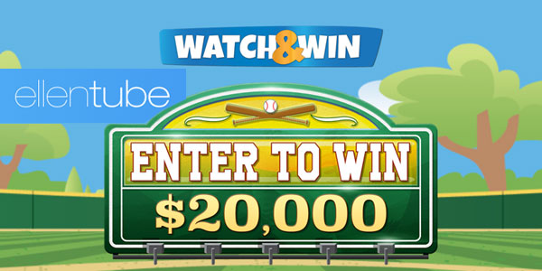 Ellen Tube Watch and Win