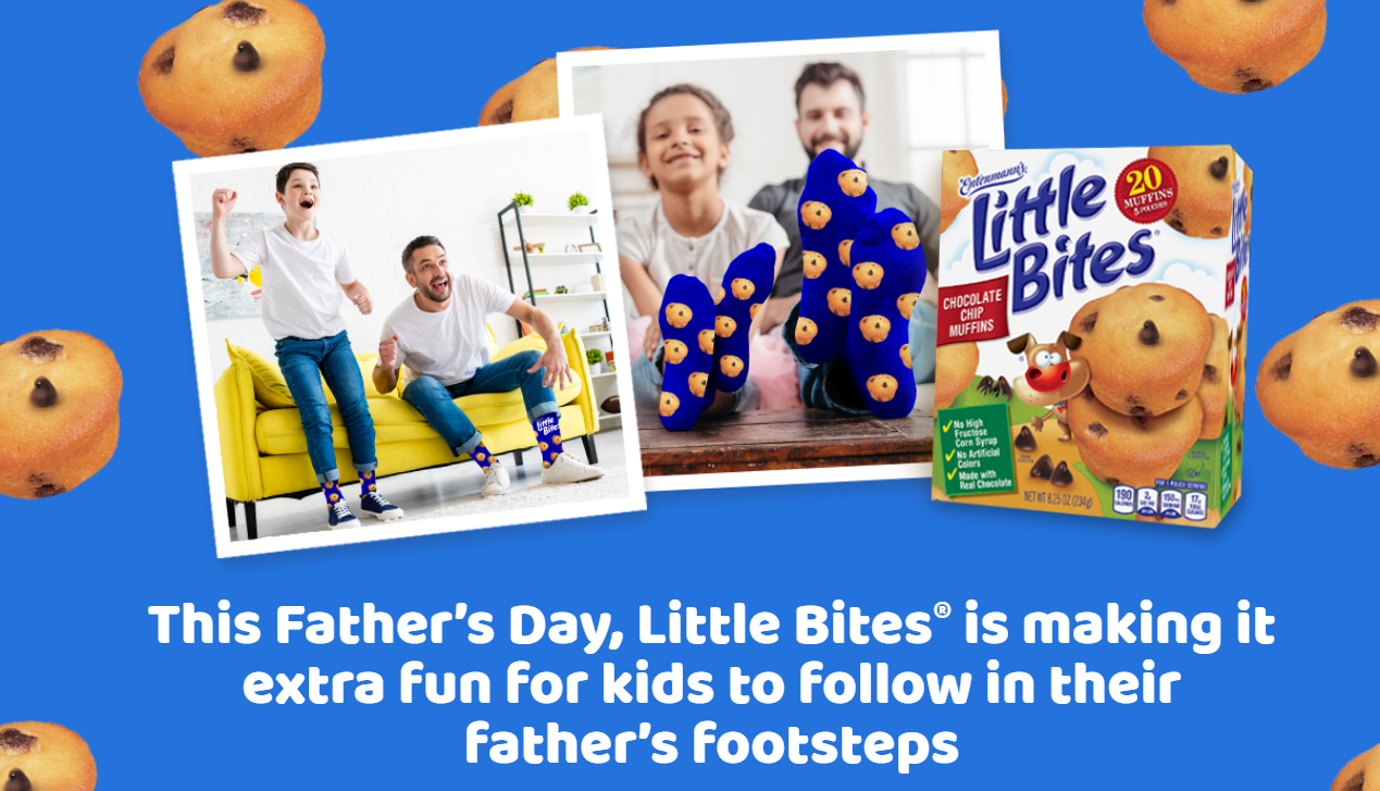 Enter the Little Bites Muffins Father's Day's Sweepstakes for your chance to win a $100 Amazon gift card and Entenmann's Little Bites Muffins.