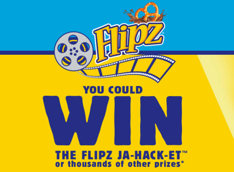 Play the Flipz Summer Snack Hackz Instant Win Game daily for your chance to win the Flipz jacket or thousands of other prizes