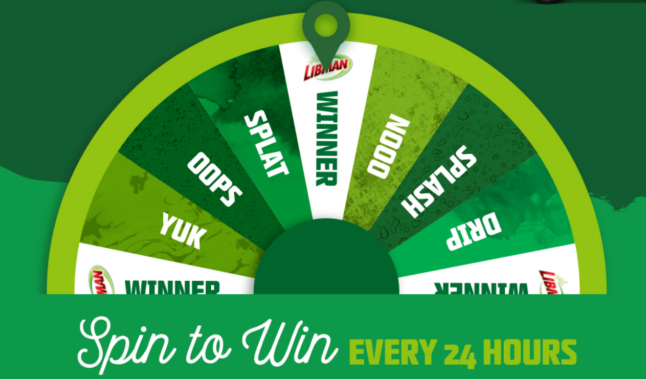 Enter Libman's Embrace Life's Messes Sweepstakes daily for your chance to win a Libman Wonder Mop and be entered to win one of four grand prize packages.