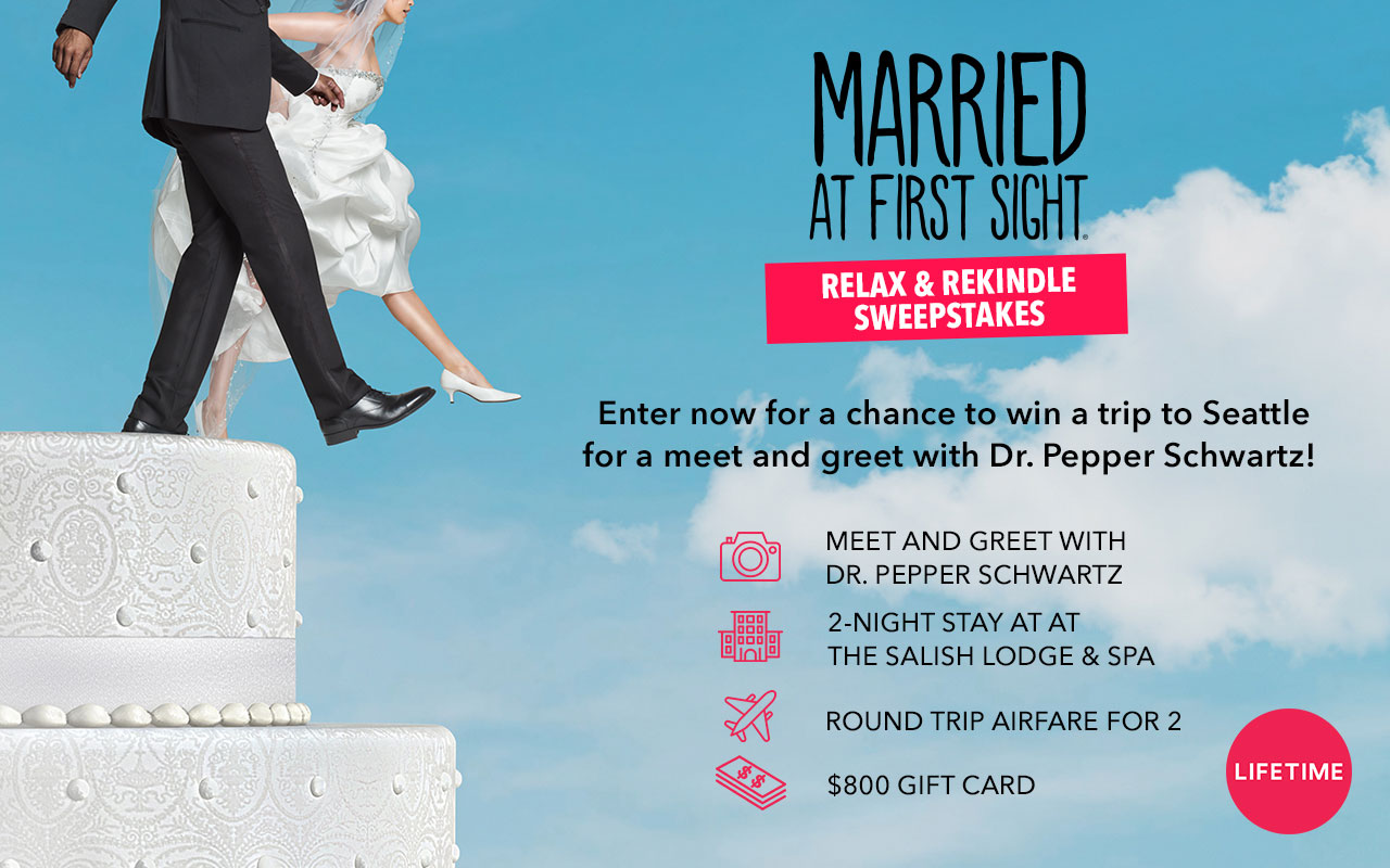 Enter for your chance to win a trip for two to Seattle, Washington with a meet-and-greet with Dr. Pepper Schwartz at the Salish Lodge & Spa, courtesy of Lifetime TV.