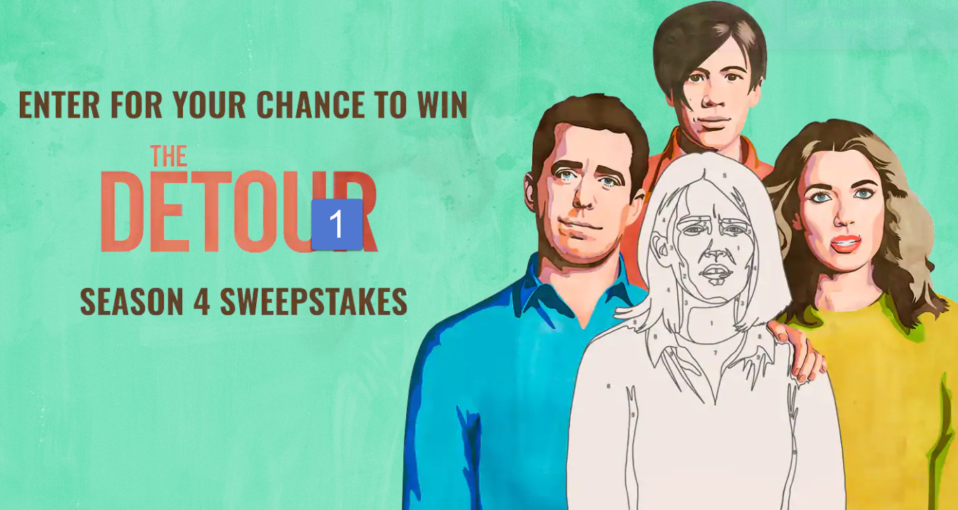 Enter the TBS The Detour Season 4 Sweepstakes for your chance to win a $1,000 Delta Airline Gift Card or one of two other great prizes.