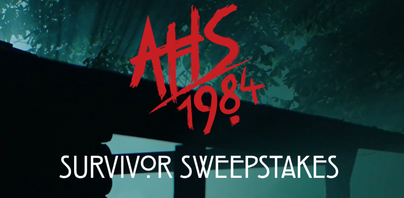 10 Daily WINNERS! Enter the AHS 1984 Survivor Sweepstakes for your chance to win a trip for two to Los Angeles, California or one of ten daily Camp Redwood Bunk Pack prizes!
