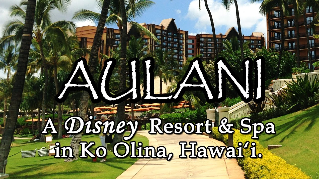 Enter for your chance to win a trip for 4 to the AULANI Disney Resort and Spa in Oahu, Hawaii