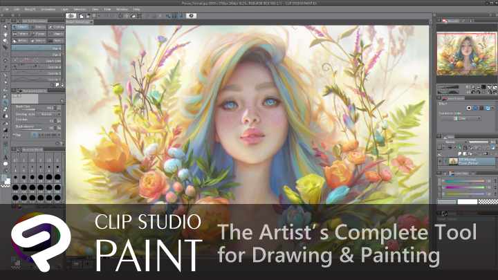 Enter WEBTOON's Canvas Sweepstakes for your chance to win one of 50 copies of Clip Studio Paint software. With specialized comic features and a natural drawing feel, Clip Studio Paint is used by professionals and studios worldwide. Sketch, ink, color, and publish your next story, all in the industry-standard tool for comics.