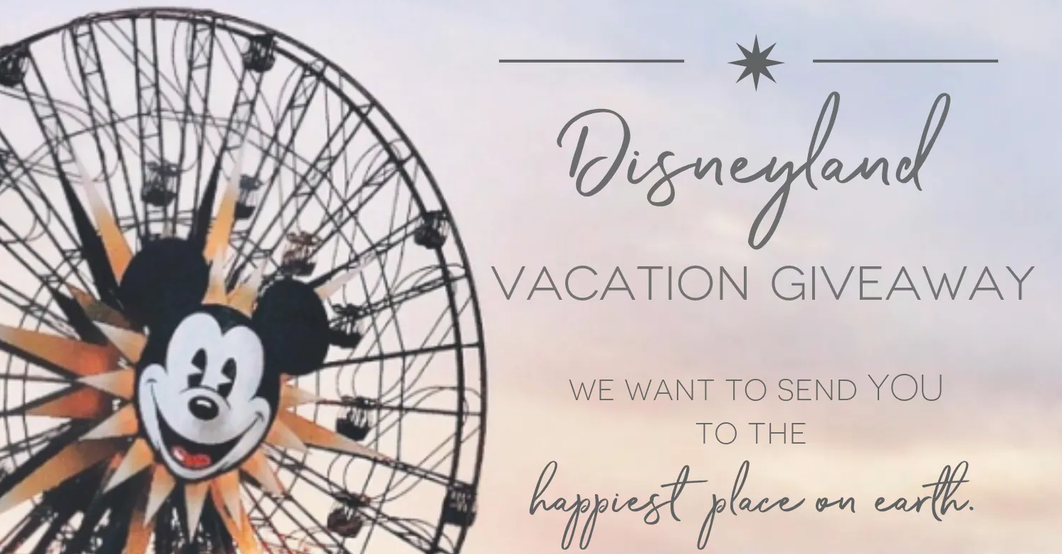 Enter for your chance to win a Disneyland Park grand prize valued at over $2,300.