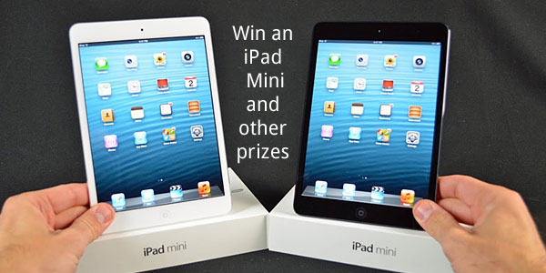 Enter for your chance to win an iPad mini worth $399.