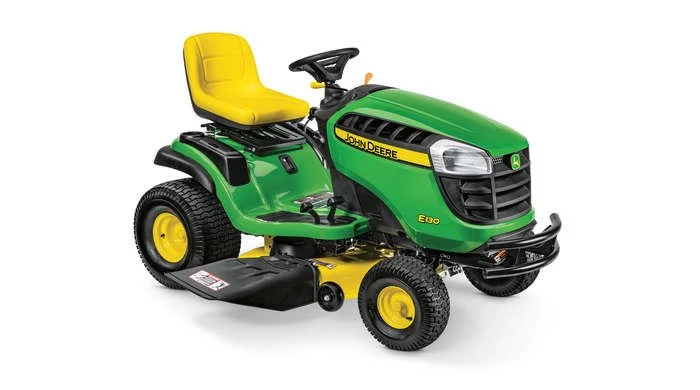 Enter for your chance to win a John Deere E130 Lawn Tractor from Bob Vila.