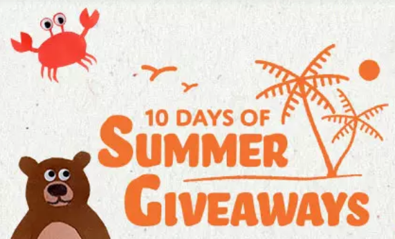 Enter the Moosejaw 10 Days of Summer Giveaways for your chance to win daily prizes. Follow Moosejaw social channels and keep an eye out for all the contests and prizes from some awesome brands. July 5th to July 14th. Two winners a day. Get excited.