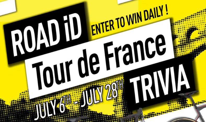 Tour de france giveaways 2019