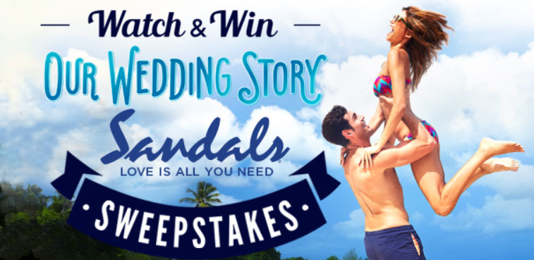 Grab this week's UPTV Our Wedding Story code and enter for your chance to win a luxury Sandals Resort vacation to Jamaica, Antigua, Saint Lucia, The Bahamas, Barbados or Grenada.