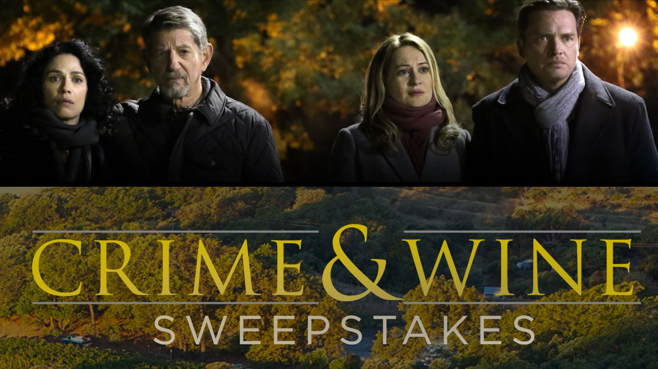 Enter the WGN America Crime & Wine Sweepstakes each week for your chance to win a trip for 2 toSonoma County to visit The Family Coppola's two Sonoma County Wineries