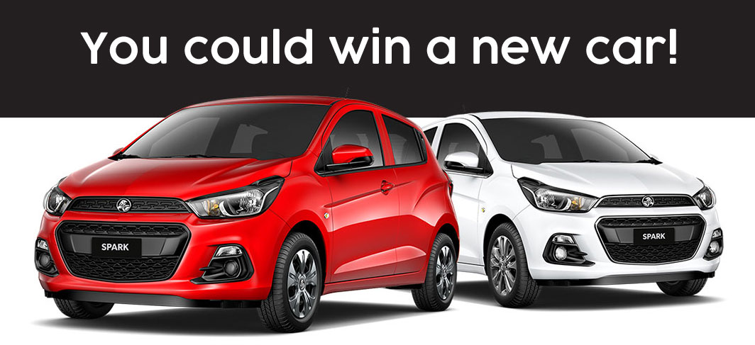 You could win a brand new car
