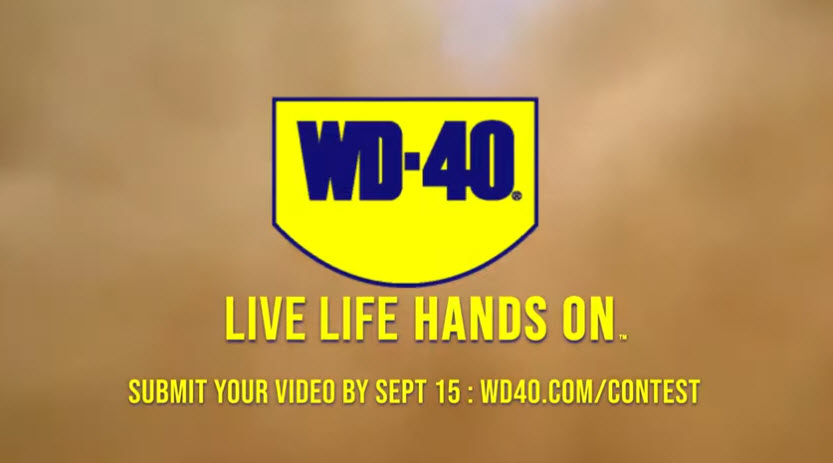 Enter for your chance to win $5,000 cash and WPD-40 Brand Hoodies in the WD-40 Company Live Life Hands On Contest.