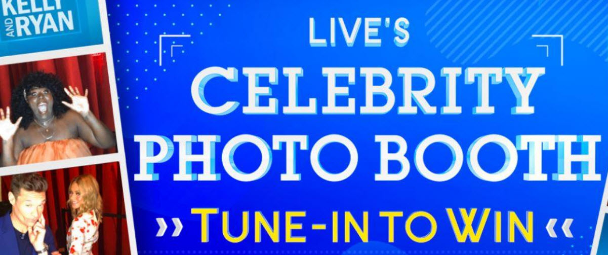 """Grab today's Live with Kelly and Ryan """"Celebrity Photo Booth Tune-in to Win Sweepstakes answer to enter for your chance to win a trip for two to the Hard Rock Los Cabos, all-inclusive resort in Mexico"""