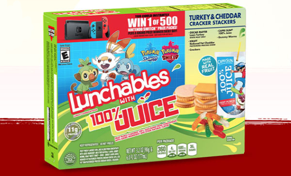 591 WINNERS! Enter for your chance to win a Free Nintendo Switch system when you play the Lunchables Mixed-Up Gamers Instant Win Game. Grab your codes and play daily!