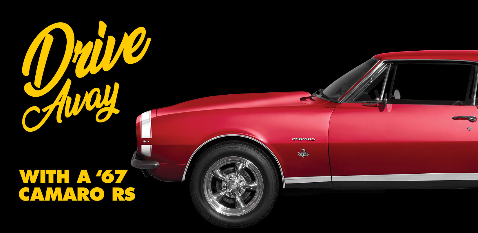 Enter for your chance to win completely restored 1967 Chevy Camaro RS from Advance Auto Parts. Note: Sharing will NOT give you bonus entries.