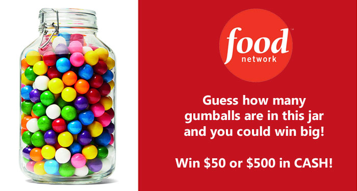Food Network Magazine September Who's Counting Contest