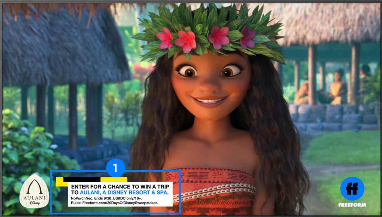 Grab your Freeform TV sweepstakes code and enter for your chance to win a trip for two to Honolulu, Hawaii.Watch Freeform every day during 30 Days of Disney for your chance to win a five-day trip for two (2) people to Aulani, A Disney Resort & Spa in Ko Olina Hawai'i!