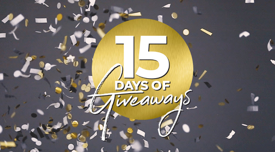 Enter Soma Intimates 15 Days of Giveaways daily for your chance to win amattress and PJ packageto a 4-night tropical vacation, each prize is worth celebrating. Enter for your chance to win every day from