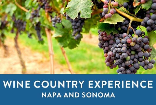 Enter for your chance to win a weekend escape for 2 to California's picturesque Sonoma Valley Wine Country
