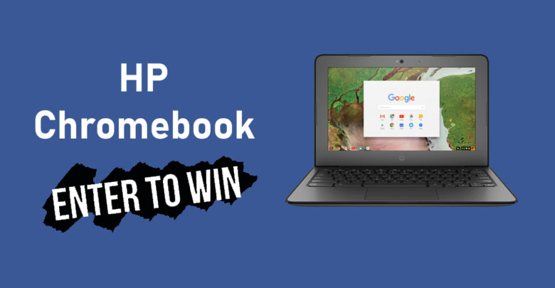 Enter for your chance to win a HP Chromebook 11A G6 EE laptop