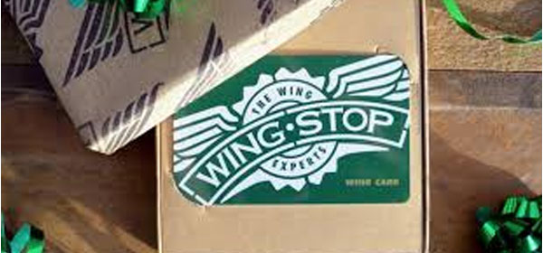 500 WINNERS! Enter for your chance to win a Wingstop gift card. Wingstop gift cards are a great way to give the gift of flavor! Gift cards are redeemable in hundreds of Wingstop locations across the United States.