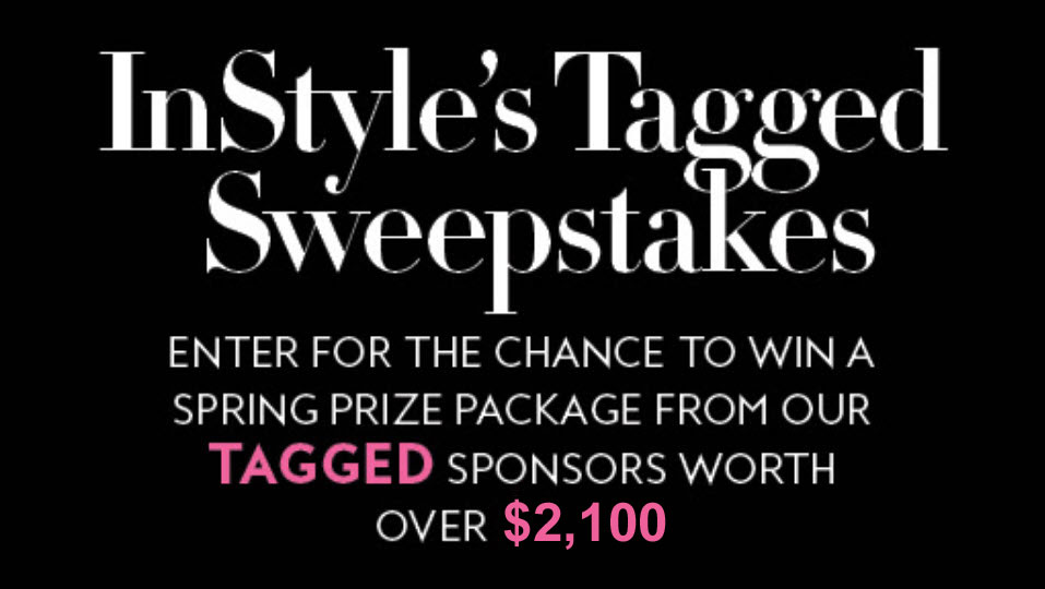 Enter for your chance to win a Fall Beauty prize package from the InStyle TAGGED sponsored worth over $2,000!