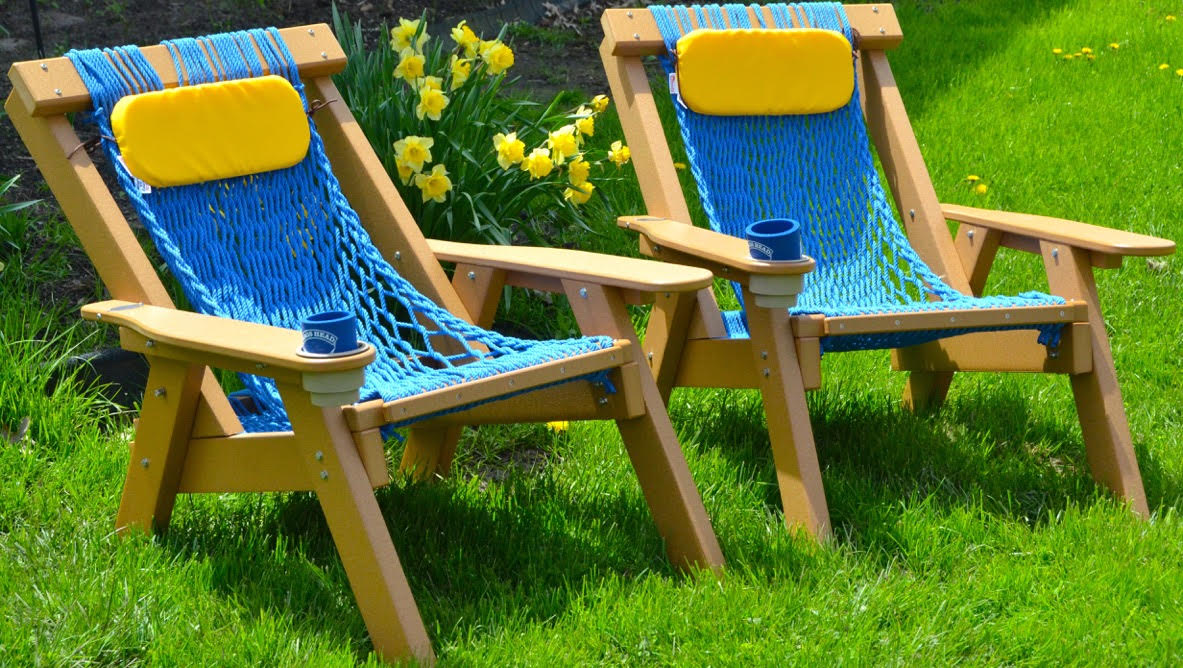 Enter for your chance to win a set of 2 Durawood/Duracord Rope Chairs from Nags Head Hammocks! Whopping $900 value!!!