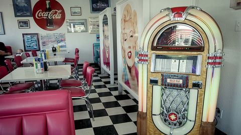 Enter for your chance to win a Coca-Cola Retro Coke Diner Set and Jukebox valued at over $9,000. Coca-Cola has had a permanent spot in American culture. The brand's iconic trademark logo has been featured in diners for years. Here's your chance to win a part of history for your own home.