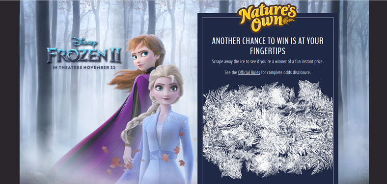 490 WINNERS! Get ready to pack your bags because you and a guest could win a trip to Norway with Adventures by Disney, courtesy of Nature's Own. Spend 8 days experiencing the home that inspired Disney's Elsa, Anna, and the rest of the gang.