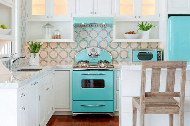 """Enter for your chance to win a """"Big Chill"""" Retro Stove AND a Bobo's prize pack."""