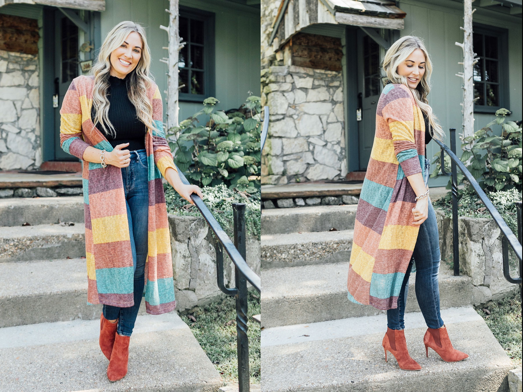 Enter for your chance to win a Jess Lea Boutique Cardigan. This striped print cardigan is so chic & comfy. It features a super soft & lightweight fabric, a classic stripe print open front and slightly oversized fit. This cardigan is lightweight and perfect for layering.