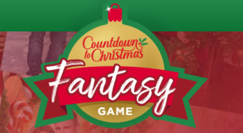 WEEKLY WINNERS! Enter for your chance to win CASH and GIFT CARDS when you participate in the Hallmark Countdown to Christmas Fantasy Game. Create a league and play with your friends!
