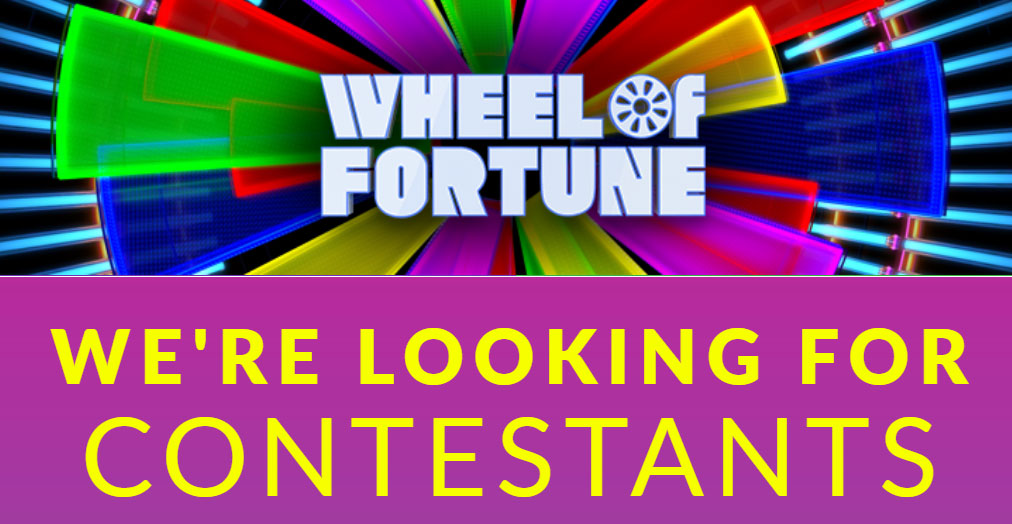 Have you always imagined what it would be like to spin the Wheel, meet Pat and Vanna and win BIG money? Share why you'd make a great contestant and you could be on the show! Here's your chance to charm us with your witty candor.