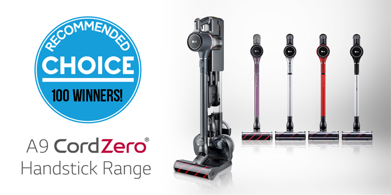 100 WINNERS! Enter for your chance to win an LG CordZero A9 Ultimate Cordless Stick Vacuum from Good Housekeeping Magazine.