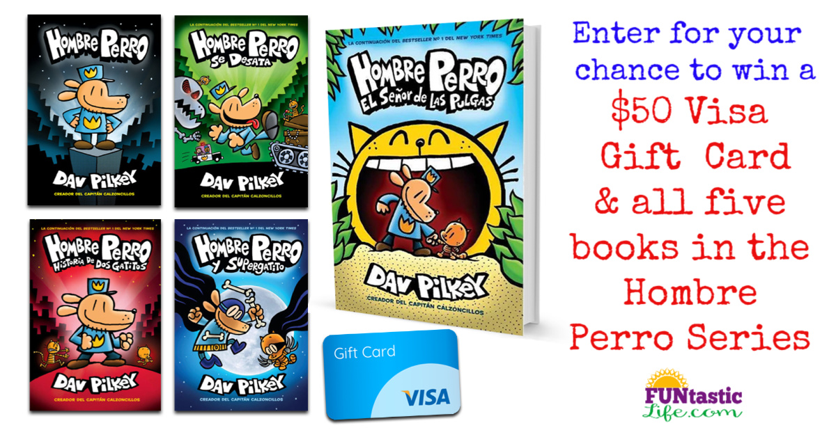 Enter for your chance to win a Hombre Perro Prize Pack including $50 Visa Gift Card and all five books in the Hombre Perro series.