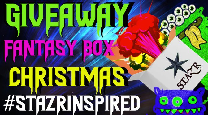 Enter for your chance to win a#STAZR Christmas Fantasy Box worth $500! Christmas is coming up, the jolliest time of year! Start your holiday off with a custom painted gift box, perfect for re-gifting! *hint hint* Then keeps those women in your life happy with a hand-made fantasy necklace made entirely from polymeric pastes.