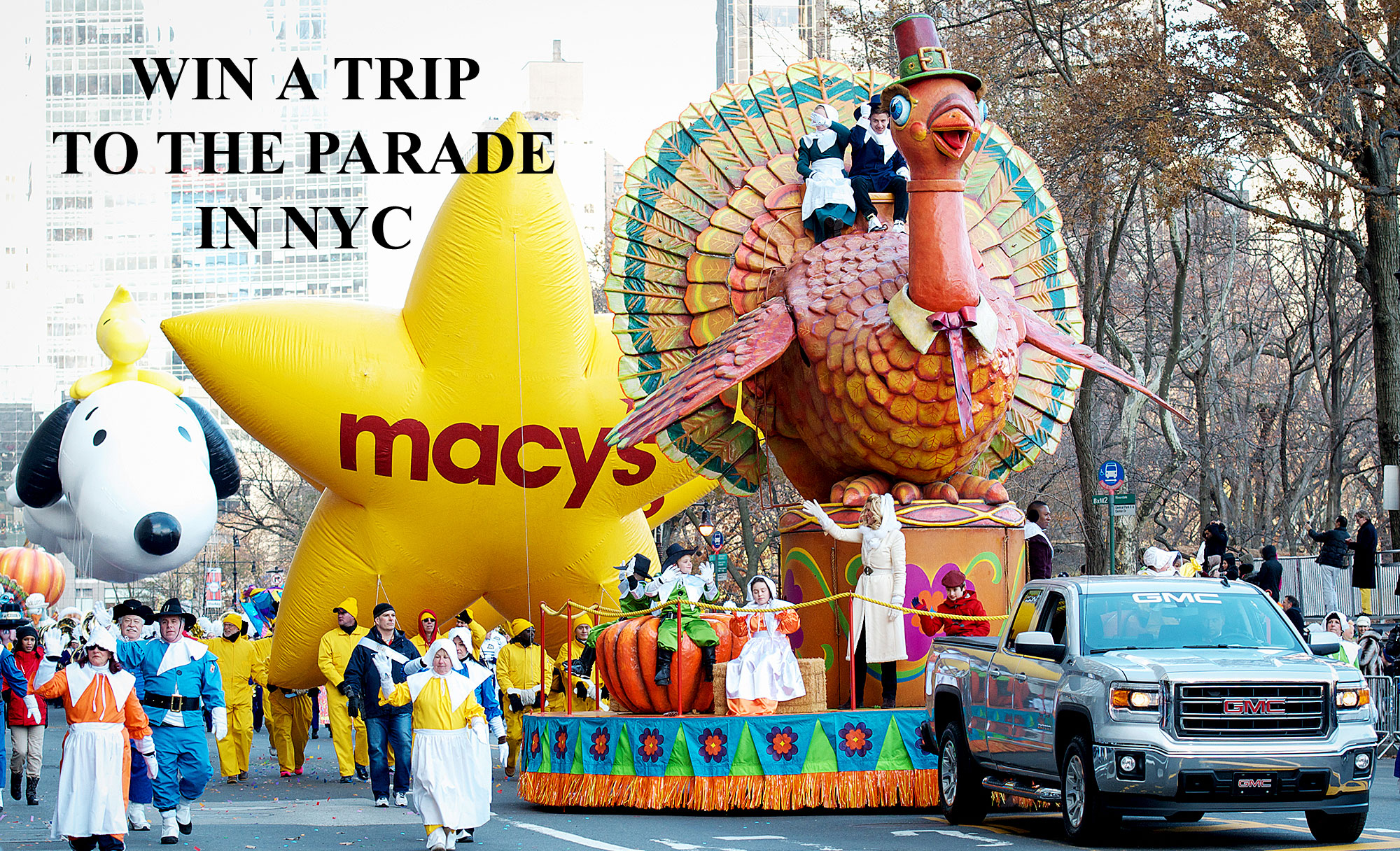 Enter for your chance to win a trip for 4 to the 2020 Macy's Thanksgiving Day Parade in New York, NY when you enter Entenmann's Macy's Thanksgiving Day Parade Sweepstakes.