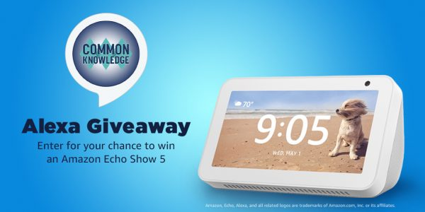 Seventeen Lucky Winners will take home an Amazon Echo Show 5! Enter for your chance to win one now.