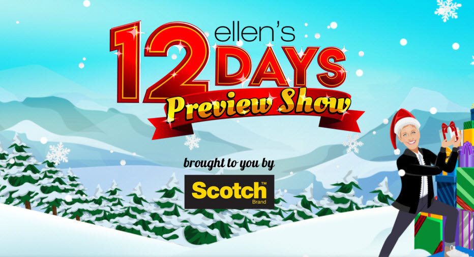 Ellen's 12 Days of Giveaways 2019: Everything to Know
