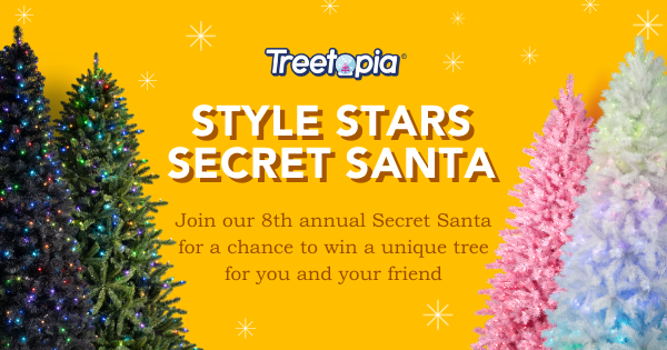 Enter for your chance to win a Treetopia Christmas tree for you and a friend. Pick your favorite Treetopia's Design Council style to enter for your chance to win.