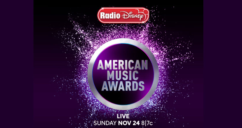 If you win next Radio Disney grand prize, you'll be heading on a VIP getaway to Los Angeles to the 2019 American Music Awards on ABC! Not only will you and 3 guests have tickets to one of the hottest awards shows in music, but you will also have access to the red carpet fan area to see some of your favorite Radio Disney artists.